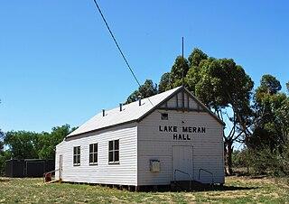 Lake Meran, Victoria Town in Victoria, Australia
