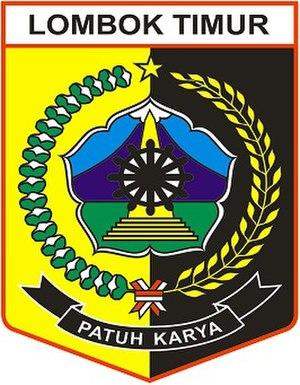 East Lombok Regency - Image: Lambang Kabupaten Lombok Timur