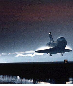 Landing shuttle