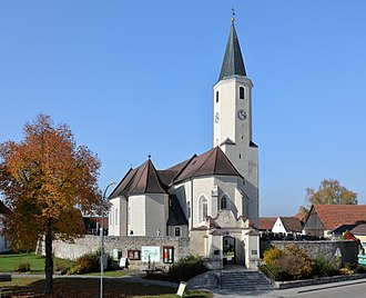 Langau - Parish church