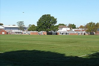 Langtree School - View of Langtree School, Woodcote, Oxfordshire.