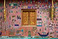 Laos - Luang Prabang 103 - gorgeous wall at Wat Xieng Thong (6582769467).jpg