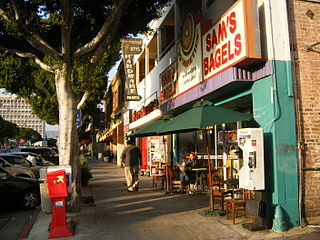 Larchmont, Los Angeles Neighborhood of Los Angeles in California, United States