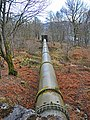 Large pipe taking water to Finlarig power station - geograph.org.uk - 681917.jpg