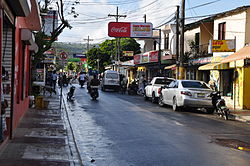 Street view of Las Terrenas