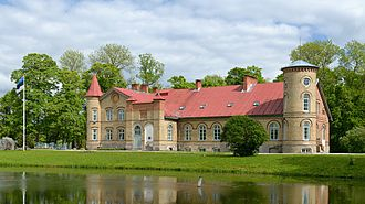 Karl Ernst von Baer - Lasila manor, Estonia, where von Baer spent his early childhood