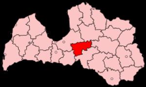 Ogre District - Image: Latvia Ogre