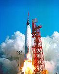 Lúc phóng Mercury-Atlas