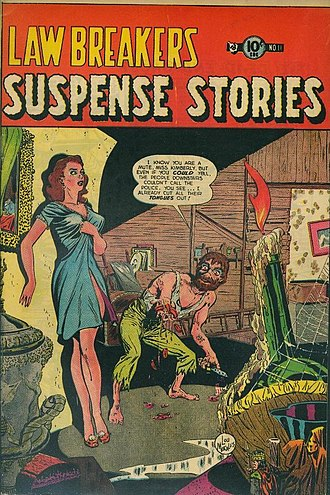 Charlton Comics - Image: Lawbreakers Suspense Stories 11