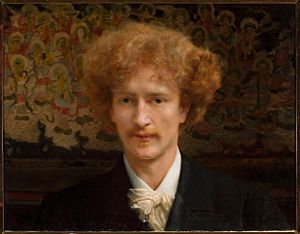 Ignacy Jan Paderewski - A portrait of Ignacy Jan Paderewski, by painter Lawrence Alma-Tadema, 1890