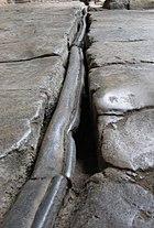 Lead pipe - Bath Roman Baths