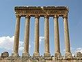 Lebanon, Baalbek, Temple of Jupiter in Baalbek.jpg
