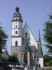 Thomaskirche, de kerk van Johann Sebastian Bach