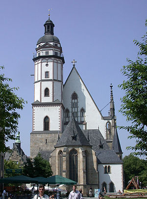 St. Thomas Church, Leipzig - Image: Leipzig Thomaskirche