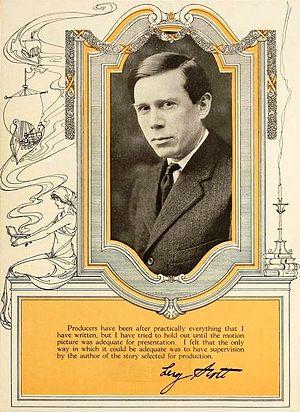 Leroy Scott - Scott in a 1919 ad