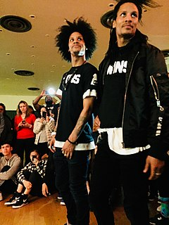 Les Twins identical twin French dancers, choreographers, singers and models
