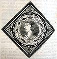 """Les merveilles de l'industrie, 1873 """"Carreau émaillé provenant du pavage d'une église, au Moyen âge"""". (4615019002).jpg"""