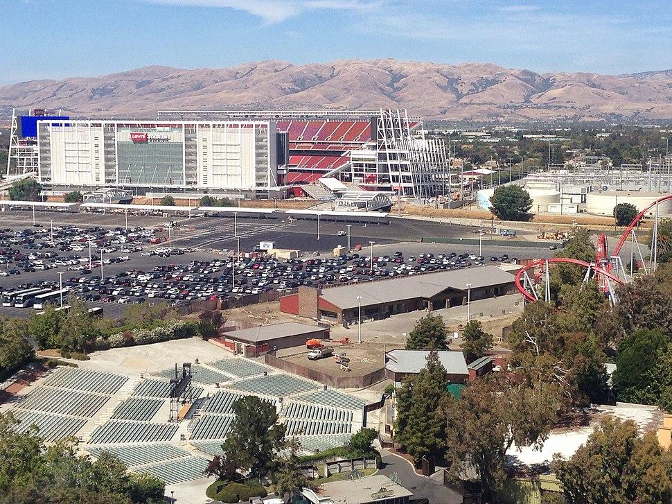 Levi's Stadium from air