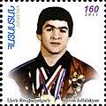 Levon Julfalakyan 2012 Armenia stamp.jpg