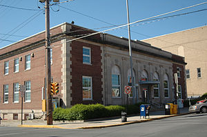 Lewistown, Pennsylvania - The post office in Lewistown