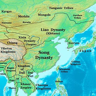 Khitan people - Liao dynasty in 1025
