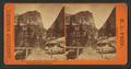 Liberty Cap pass, from Snows' Bridge, Yo Semite Valley, California, by Pond, C. L. (Charles L.).png
