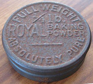 Royal Baking Powder Company American baking powder company