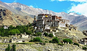 Likir Monastery - View of Likir Monastery, Ladakh, India