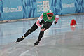 Lillehammer 2016 - Speed skating Ladies' 500m race 2 - Anna Nifantava.jpg