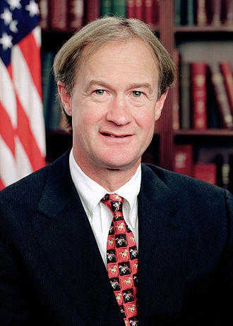 2016 Democratic Party presidential candidates - Image: Lincoln Chafee official portrait