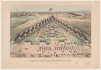Lincoln Park (Washington, D.C.) - Lincoln Hospital during the Civil War