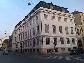 Lindencrone Mansion building in Copenhagen