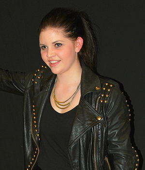 Line (singer) - Line pictured in 2012