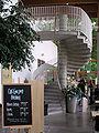 Linkopings stadsbibliotek inside stair.jpg
