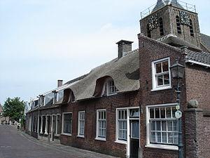 Linschoten (village) - Image: Linschoten dorpstraat huizen