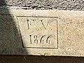 Linteau daté de 1866.jpg