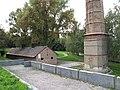 Litoměřice, krematorium Richard, komín a budova.JPG