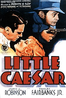<i>Little Caesar</i> (film) 1931 film