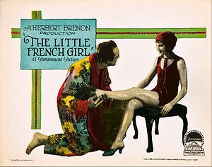 The Little French Girl - Lobby card