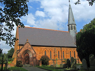 St Michael and All Angels Church, Little Leigh Church in Cheshire, England