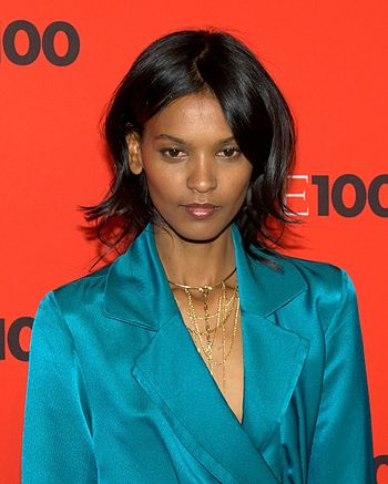 English: Liya Kebede at the 2010 Time 100 Gala.