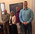 Liz Cheney with Shay Lundvall, Tyler Miller and E.O. Sowerwin.jpg