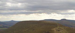 Mynydd Llysiau mountain in United Kingdom
