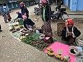 Local bazaar outside of Mongkhet Myoma Market in one early morning of December 2016.jpg