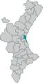 Localització de Comarca de València.png