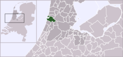 Location of Velsen
