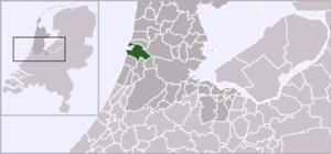 Driehuis - Image: Locatie Velsen