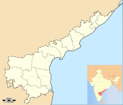 Mandasa is located in Andhra Pradesh