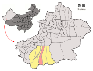 Qira County County in Xinjiang, Peoples Republic of China
