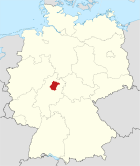 Locator map HR in Germany.svg